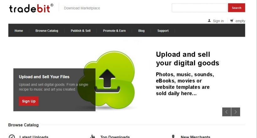 Tradebit website