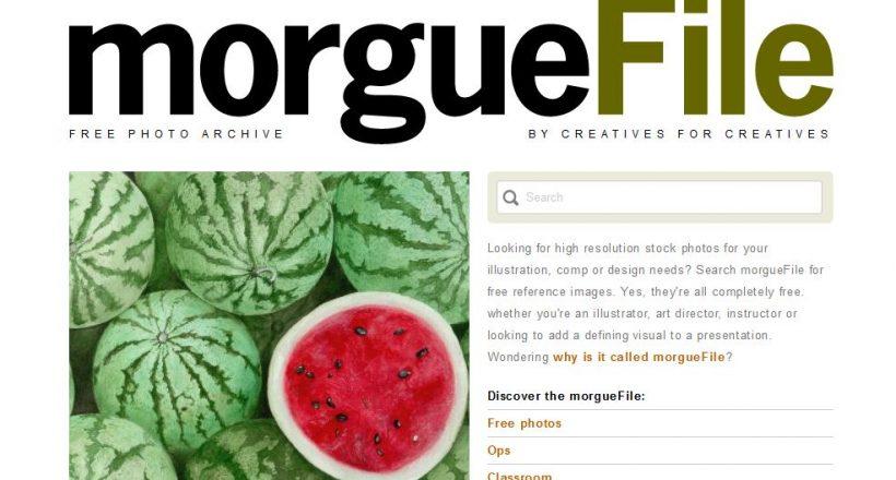 morgue file website